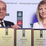 Impact Estate wins three prestigious Arabian Property Awards